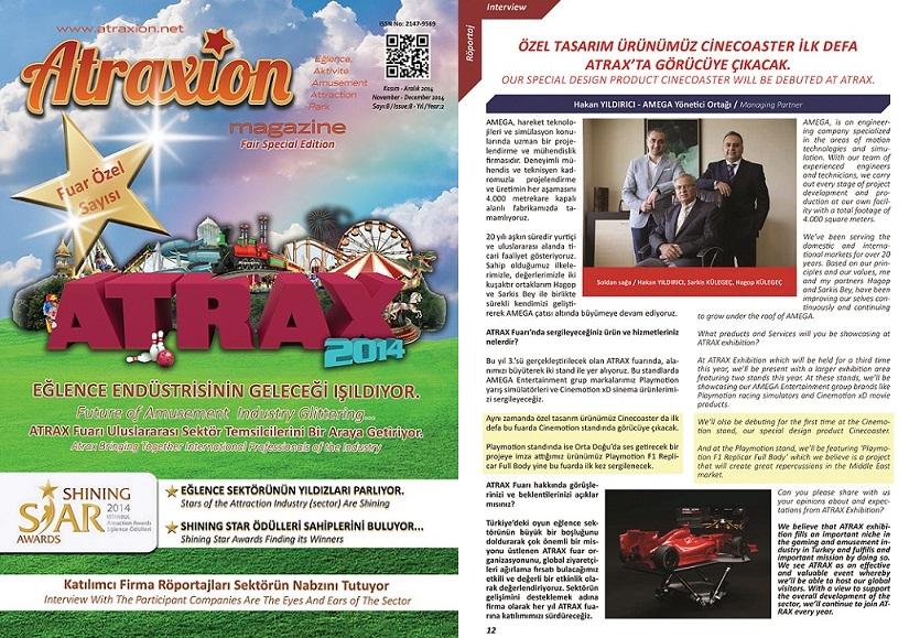 ATRAXION DERGİSİ - 2014 KASIM