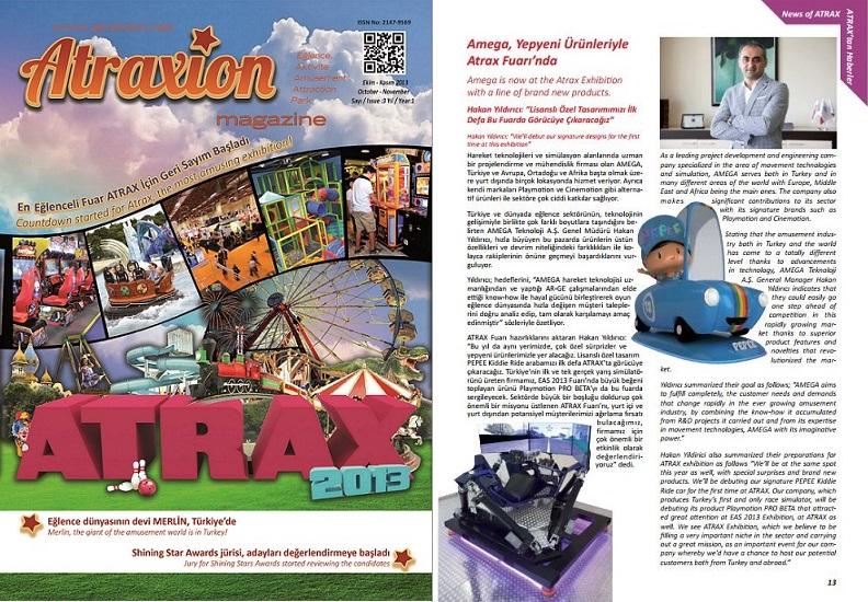 ATRAXION DERGİSİ - 2013  KASIM
