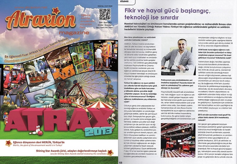 ATRAXION DERGİSİ - 2013  EKİM